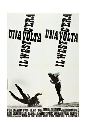 ONCE UPON A TIME IN THE WEST (aka C'ERA UNA VOLTA IL WEST), Italian poster art, 1968 Posters