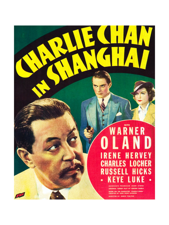 CHARLIE CHAN IN SHANGHAI Posters