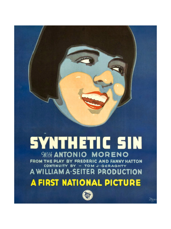 SYNTHETIC SIN, Colleen Moore, 1929. Posters
