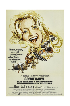 THE SUGARLAND EXPRESS, British poster, Goldie Hawn, 1974 Poster