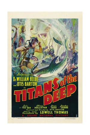 TITANS OF THE DEEP, poster art, 1938 Prints