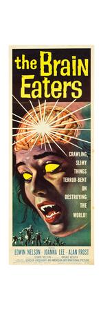The Brain Eaters, insert poster, 1958 Print