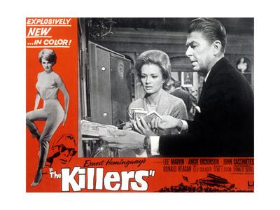 THE KILLERS, Angie Dickinson, Ronald Reagan, 1964. Prints