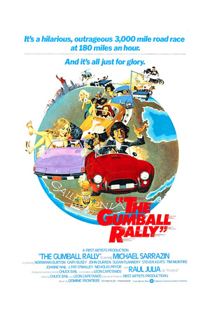 The Gumball Rally, Michael Sarrazin, 1976 Posters