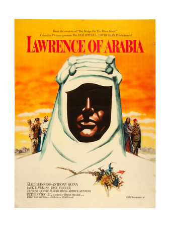 Lawrence of Arabia, 1962 Plakater