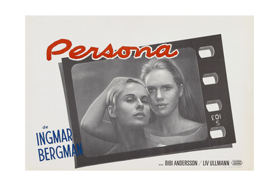 Persona, Bibi Andersson, Liv Ullmann, Belgian lobbycard, 1966 Prints