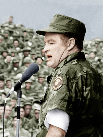 Bob Hope entertains the troops in Vietnam, ca. late 1960s Photo