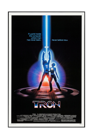 TRON, 1982 Posters