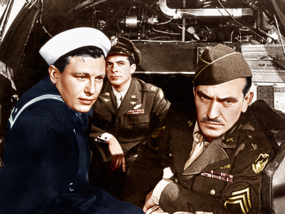 The Best Years of Our Lives, Harold Russell, Dana Andrews, Frederic March, 1946 Photo