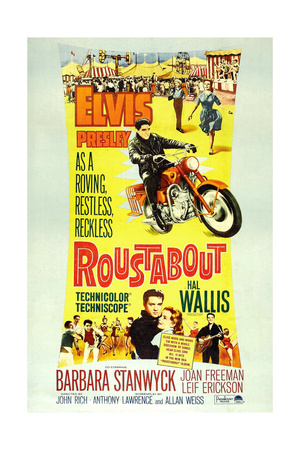ROUSTABOUT Posters