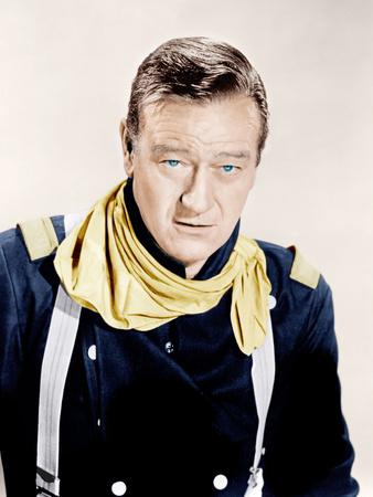 FORT APACHE, John Wayne, 1948 Photo