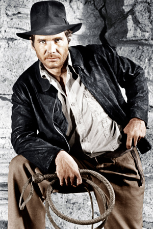 Raiders of the Lost Ark, Harrison Ford, 1981. © Paramount/courtesy Everett Collection Photo