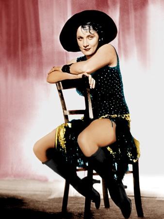 The Blue Angel, Marlene Dietrich, 1930 Foto