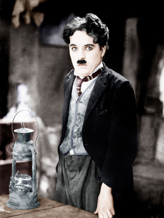 The Gold Rush, Charles Chaplin, 1925 Photo