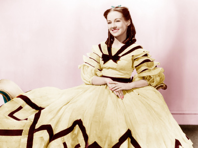 GONE WITH THE WIND, Evelyn Keyes, 1939. Photo
