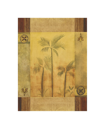 Palm Patterns I Giclee Print by Fernando Leal