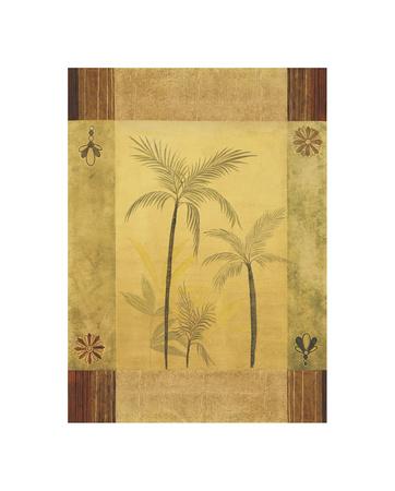 Palm Patterns II Giclee Print by Fernando Leal