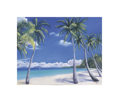 Secluded Cove Giclee Print by Paul Kenton