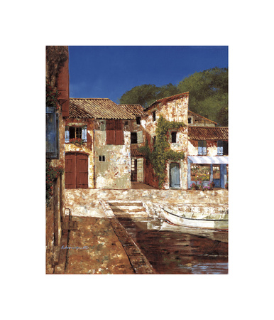 Quiet Days of Summer Giclee Print by Gilles Archambault