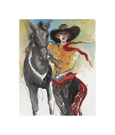 Liberty Giclee Print by Mona Shafer Edwards