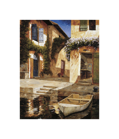 Lunchtime Giclee Print by Gilles Archambault