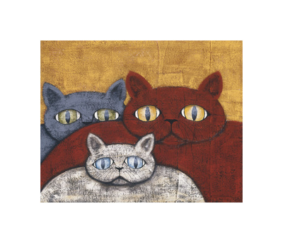 Sun Cats Giclee Print by Kevin Snyder