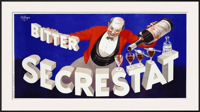 Bitter Secrestat, 1935 Print by  Robys (Robert Wolff)