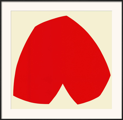 Red White, c.1962 Prints by Ellsworth Kelly