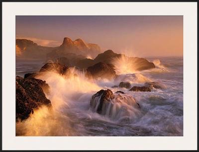 Ocean's Fury Art by Marc Adamus