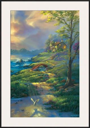 Evening Comfort Prints by Jim Warren