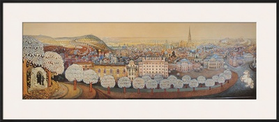 Viennese Impressions - Vienna Posters by Gottfried Kumpf