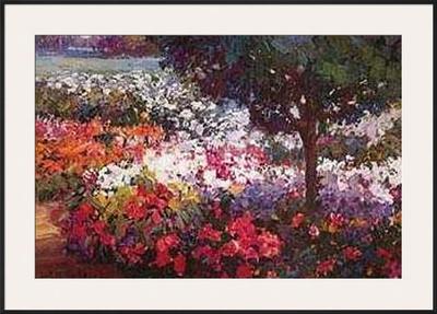 Garden Palette Prints by Kent Wallis