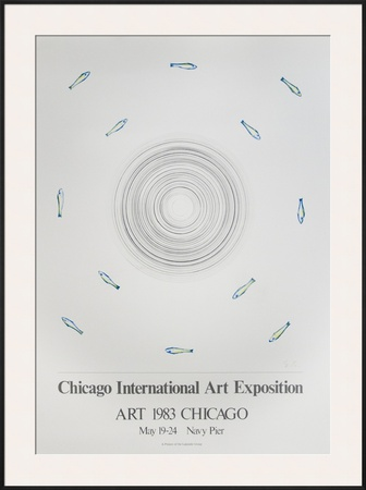 Chicago International Art Exposition Posters by Ed Ruscha