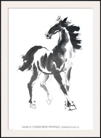 Horse Prints by Walasse Ting