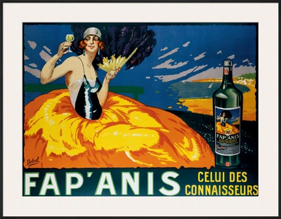 Fap'Anis Framed Giclee Print by  Delval