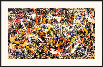 Convergence Poster by Jackson Pollock