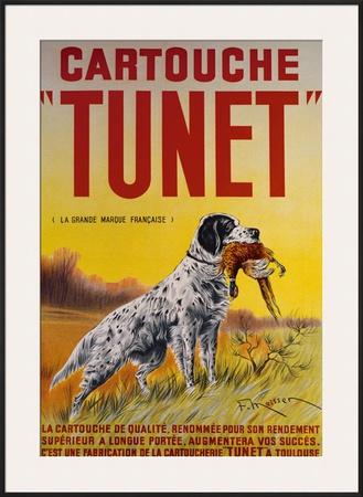 Cartouche Tunet Framed Giclee Print by F. Maisser