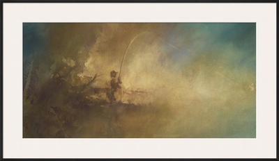 Morning Mist Print by Bob Crofut