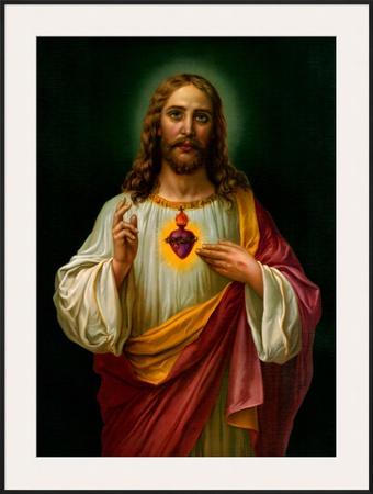 Sacred Heart of Jesus Posters by  Zabateri