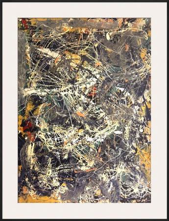 Untitled (1949) Print by Jackson Pollock