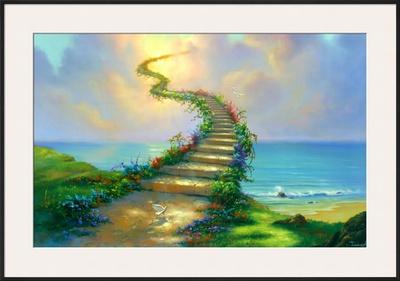 Stairway to Heaven Prints by Jim Warren