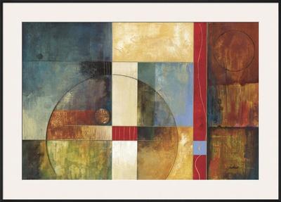 Color Matrix II Prints by  Judeen