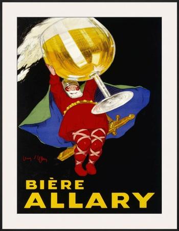 Biere Allary, 1928 Poster by Jean D' Ylen