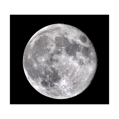 Full Moon Giclee Print by John Sanford