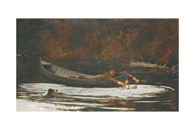 Hound and Hunter, 1892 Giclee Print by Winslow Homer