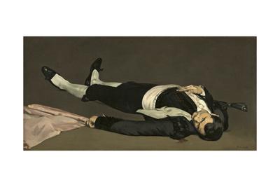 The Dead Toreador, C.1864 Giclee Print by Édouard Manet