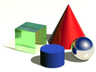 Geometric Shapes, Artwork Premium Photographic Print by Laguna Design