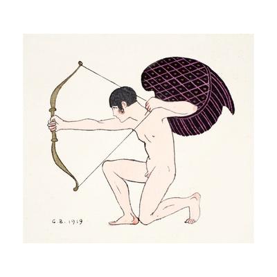 Cupid 1919 Giclee Print by Georges Barbier