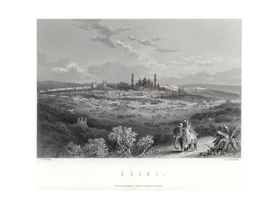 Delhi in India Giclee Print by J Ramage