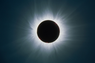 Total Solar Eclipse with Corona Photographic Print by Dr. Fred Espenak